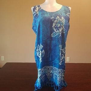 Other - Beach cover up dress size small